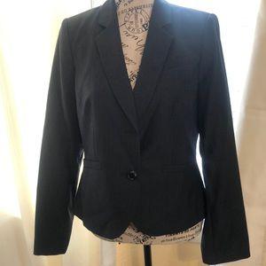 Calvin Klein Woman's Charcoal Gray Jacket Sz 12p
